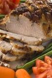 grillad pork arkivbild