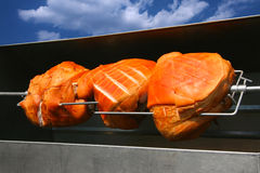 grillad pork Royaltyfria Bilder