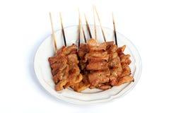grillad pork 2 Arkivfoto