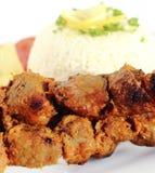 Grillad pork Royaltyfria Foton