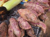 grillad potatis Royaltyfri Foto
