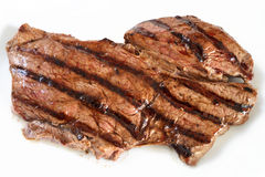 grillad rumpasteak Royaltyfri Foto