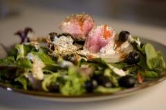 grillad salladtonfisk Royaltyfri Foto