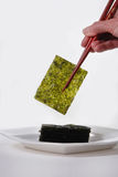 grillad seaweed arkivfoton