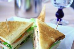 grillad smörgås Royaltyfri Foto