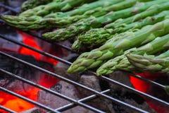 grillad sparris Royaltyfria Bilder