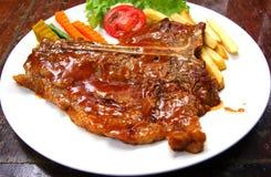 Grillad Steak Royaltyfria Bilder
