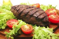 grillad steak för nötkött meat Royaltyfri Fotografi