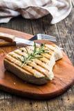 grillad steaktonfisk royaltyfri fotografi
