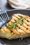 grillad steaktonfisk fotografering för bildbyråer