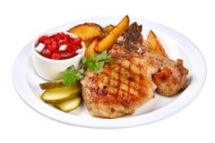 grillad stek Royaltyfri Foto