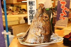 grillad tonfisk Royaltyfri Fotografi