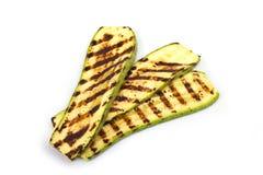 Grillad zucchini Arkivfoto