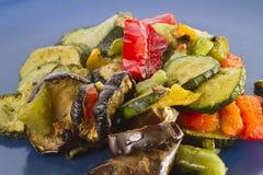 grillade blandade grönsaker Arkivfoto