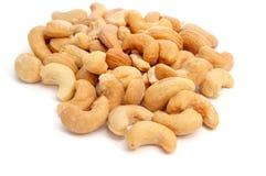 grillade cashews Arkivbilder