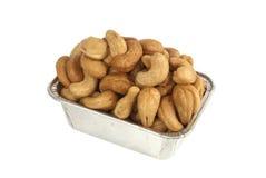grillade cashews Fotografering för Bildbyråer