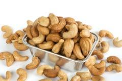 grillade cashews Royaltyfria Bilder