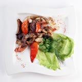 grillade grönsaker Arkivfoto