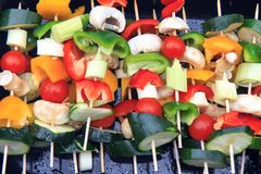 grillade grönsaker Royaltyfria Foton