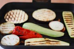 grillade grönsaker Royaltyfria Bilder