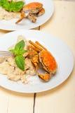 Grillade grönsaker på bröd Royaltyfria Bilder