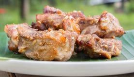 Grillade grisköttstöd. Royaltyfri Fotografi