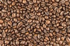Grillade kaffebönor, Royaltyfria Bilder