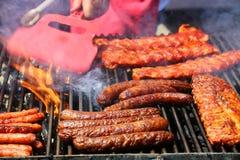 Grillade meats Fotografering för Bildbyråer
