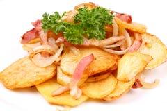 grillade potatisar Royaltyfria Foton