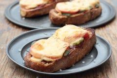 Grillade smörgåsar Royaltyfri Bild