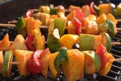 grillade veggies Royaltyfri Fotografi