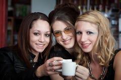 Grillage avec du café Photographie stock libre de droits