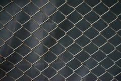Grillage d'acier inoxydable avec le fond de rouille photo stock