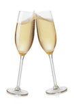 Grillage de cannelures de Champagne image libre de droits