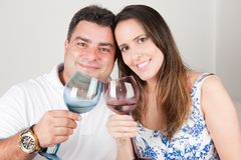 Grillage de couples Image stock