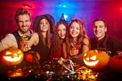 Grillage de Halloween terrible Images libres de droits