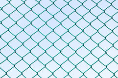 Grillage vert Image stock