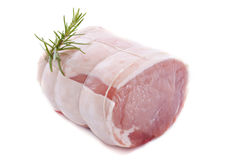 Grillat av griskött arkivbild