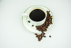 grillat bönakaffe Royaltyfri Foto