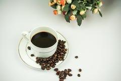 grillat bönakaffe Arkivfoto