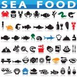 grillat hav för fiskmatparsley platta Royaltyfri Fotografi