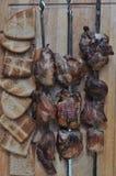 Grillat kött för matställe Fotografering för Bildbyråer