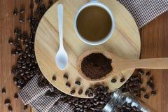 grillat kaffe Arkivbilder