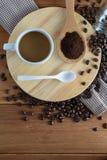 grillat kaffe Arkivbild