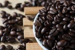 grillat kaffe Arkivfoto