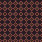 Grille élégante colorée Mesh Pattern Background de rétro abrégé sur noir plaid Images stock