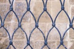 Grille antique placée comme protection Photos libres de droits
