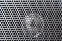 grille bańczasty srebny głośnikowy Zdjęcie Royalty Free