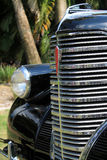Grille classic american car detail Stock Photos