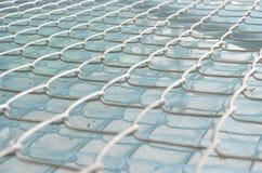 Grille d'acier Photo libre de droits